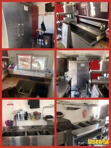 1987 Step Van Kitchen Food Truck With Trailer All-purpose Food Truck Cabinets Iowa for Sale