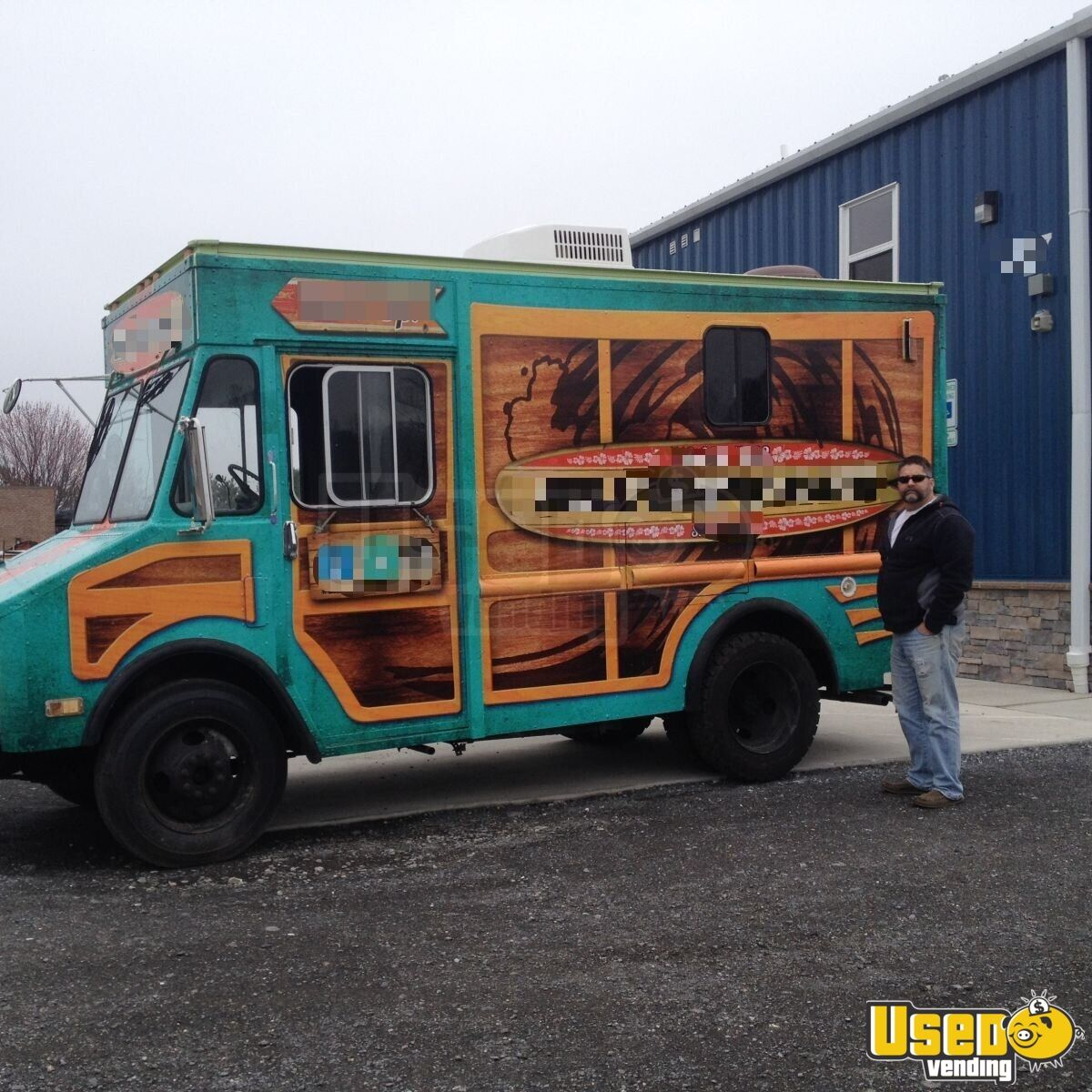 chevy food truck used food truck for sale in maryland. Black Bedroom Furniture Sets. Home Design Ideas