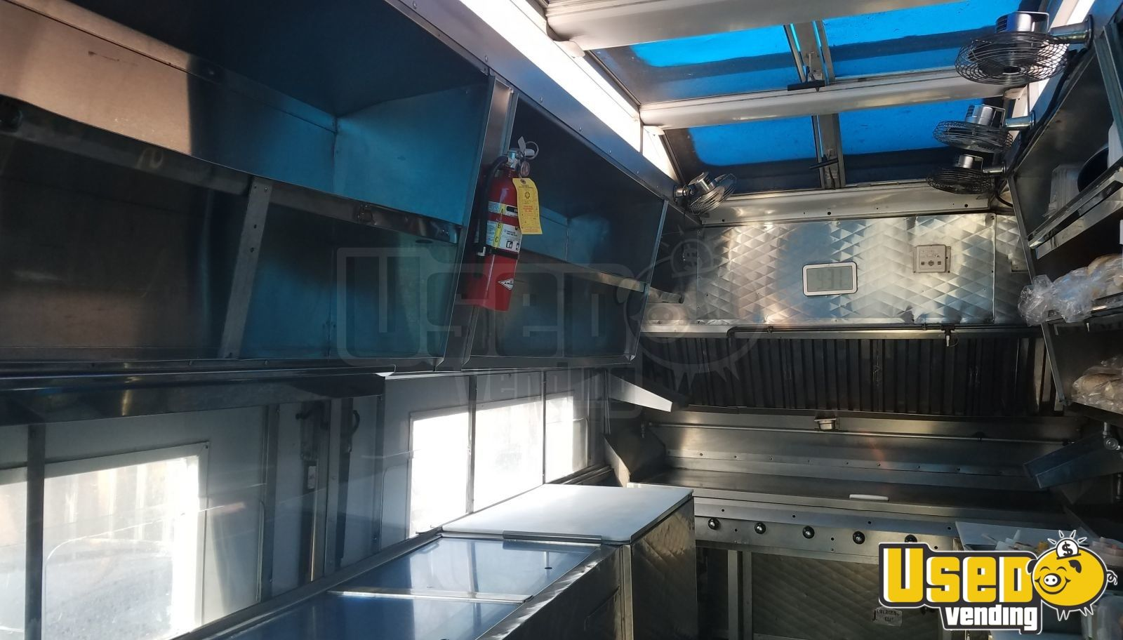 1988 Aa Cater Truck All-purpose Food Truck Backup Camera Utah Gas Engine for Sale - 7
