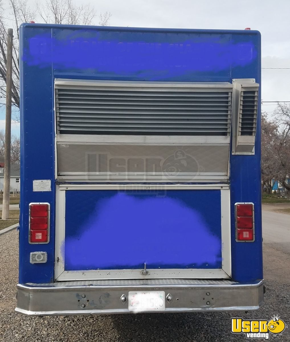 1988 Aa Cater Truck All-purpose Food Truck Stainless Steel Wall Covers Utah Gas Engine for Sale - 4