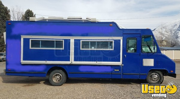 1988 Aa Cater Truck All-purpose Food Truck Utah Gas Engine for Sale