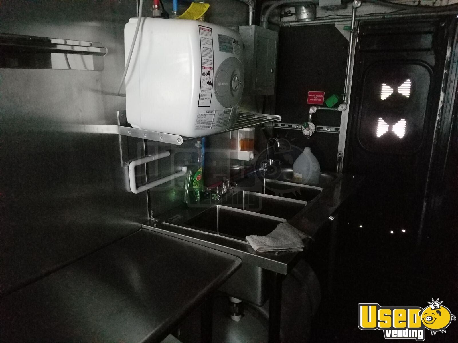 1988 All-purpose Food Truck Work Table New Jersey Diesel Engine for Sale - 13