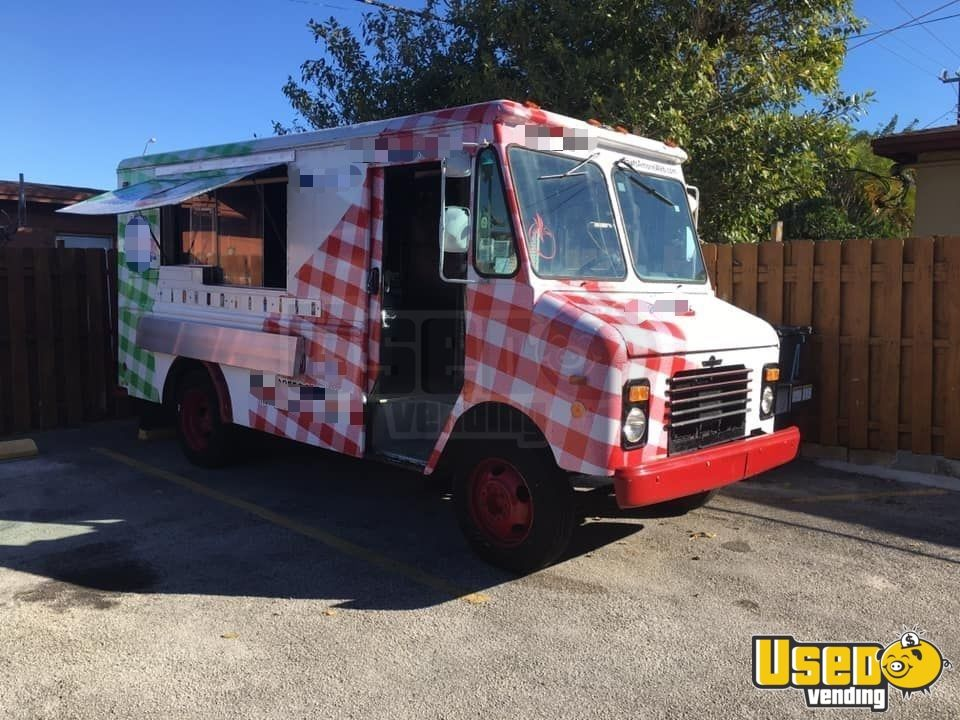 1988 Chevrolet Food Truck Air Conditioning Florida Gas Engine for Sale - 2