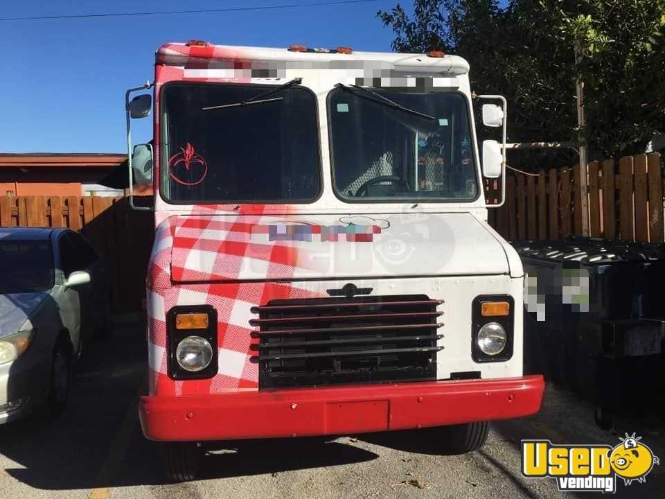 1988 Chevrolet Food Truck Concession Window Florida Gas Engine for Sale - 3