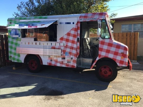 1988 Chevrolet Food Truck Florida Gas Engine for Sale