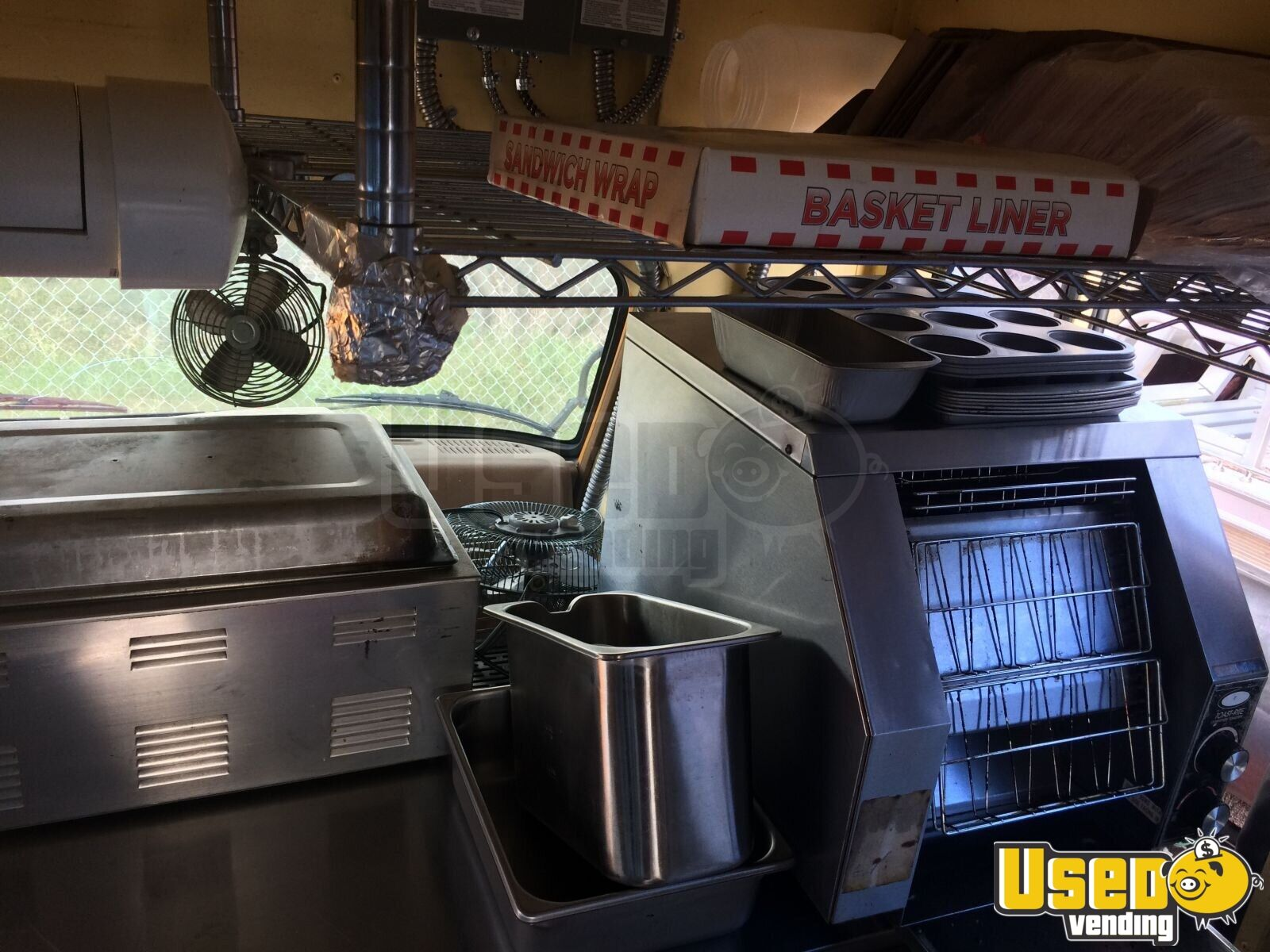 1988 Chevy Duramax All-purpose Food Truck Fire Extinguisher Texas Gas Engine for Sale - 16