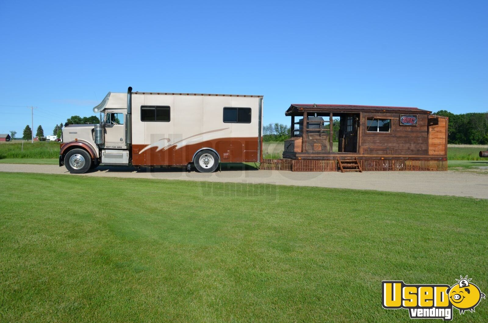 Toterhome / Mobile Business / Support / Marketing Truck for Sale in  Michigan!!!