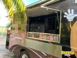 1988 P30 Step Van Food Truck All-purpose Food Truck Awning Florida Gas Engine for Sale