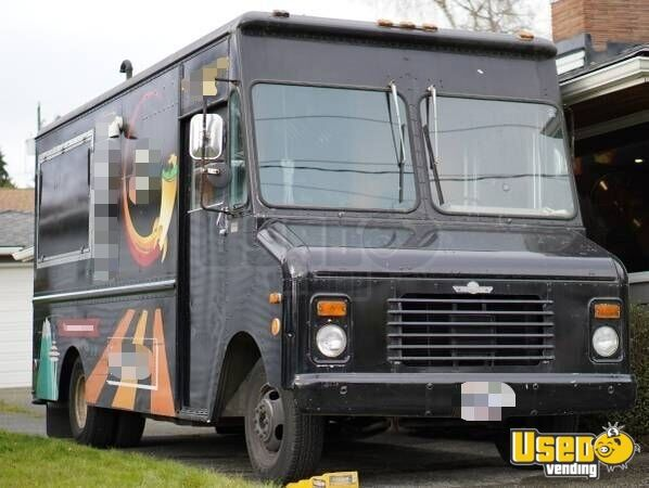 1988 Rally Wagon 3500 Van Food Truck All-purpose Food Truck Washington Diesel Engine for Sale
