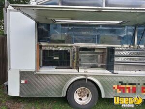 1988 Step Van Kitchen Food Truck All-purpose Food Truck Stainless Steel Wall Covers Washington for Sale