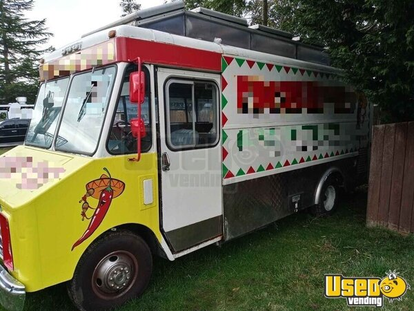 1988 Step Van Kitchen Food Truck All-purpose Food Truck Washington for Sale