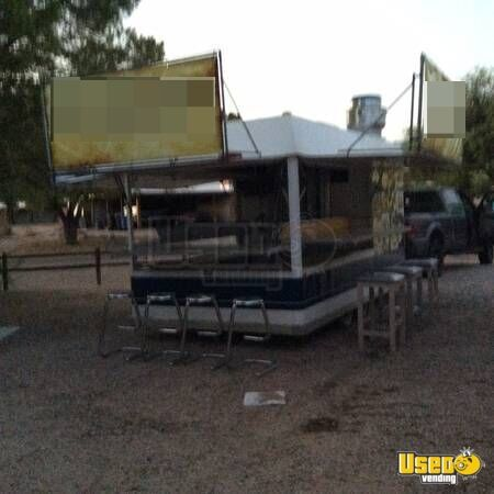 1988 Vendor Trailer ,like New Concession Trailer Air Conditioning Arizona for Sale - 2