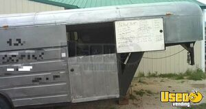 1989 Barbecue Concession Trailer Barbecue Food Trailer Cabinets Montana for Sale