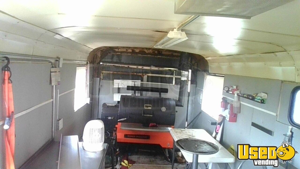 1989 Barbecue Concession Trailer Barbecue Food Trailer Insulated Walls Montana for Sale - 4