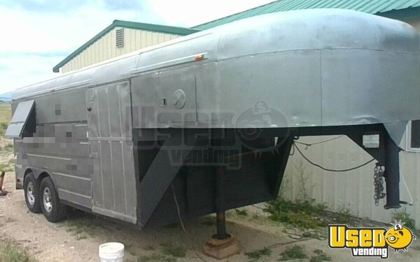 1989 Barbecue Concession Trailer Barbecue Food Trailer Montana for Sale