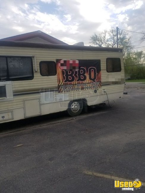 1989 Barbecue Food Truck Indiana for Sale
