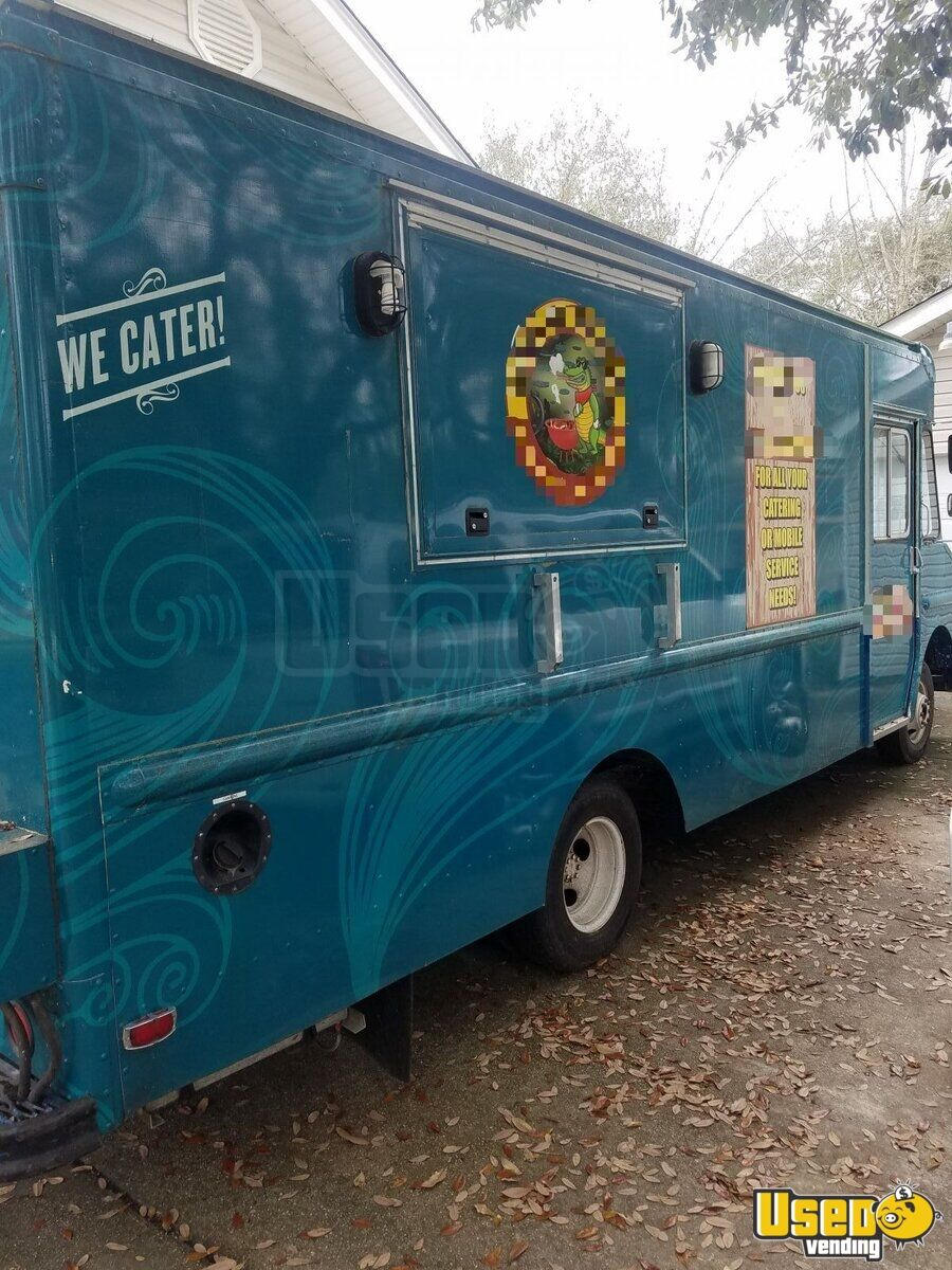 1989 Chevrolet P30 Food Truck Air Conditioning Louisiana Diesel Engine for Sale - 2