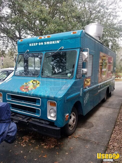 1989 Chevrolet P30 Food Truck Louisiana Diesel Engine for Sale