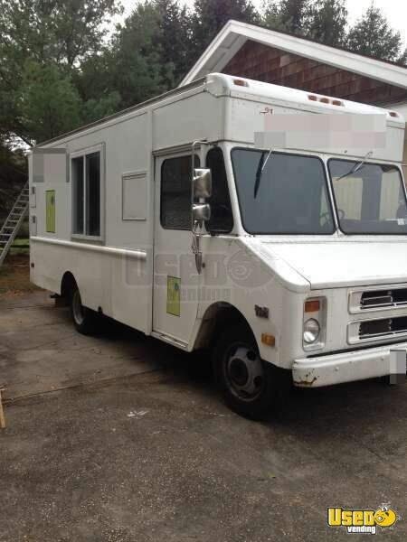 Chevy P Step Van Food Truck Full Kitchen