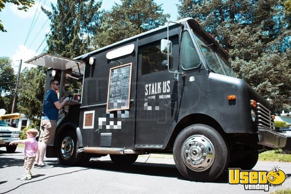 1989 Chevy P30 Grumman All-purpose Food Truck Connecticut Gas Engine for Sale