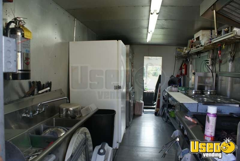 1989 Chevy Step Van 30 Food Truck Deep Freezer Florida Gas Engine for Sale - 6