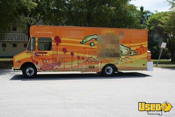 1989 Chevy Step Van 30 Food Truck Florida Gas Engine for Sale