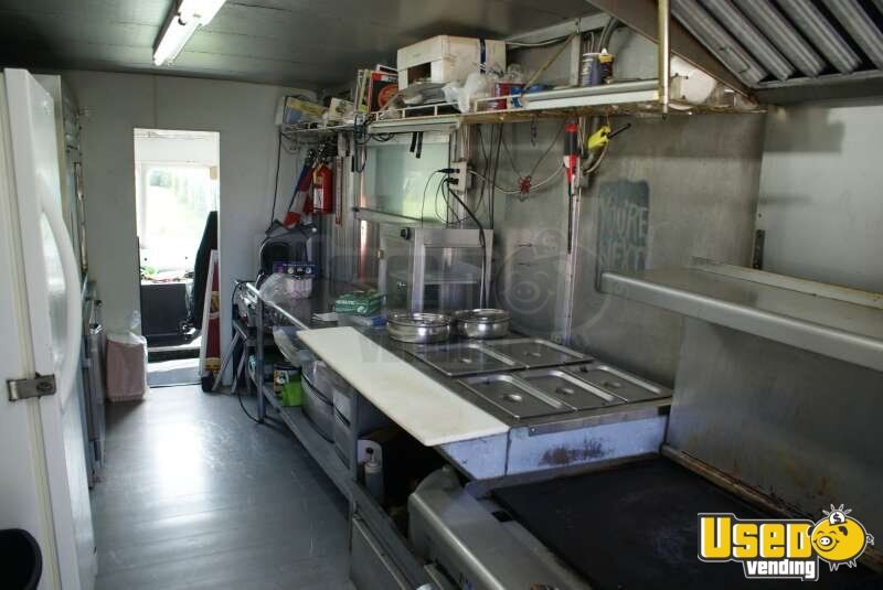 1989 Chevy Step Van 30 Food Truck Generator Florida Gas Engine for Sale - 5