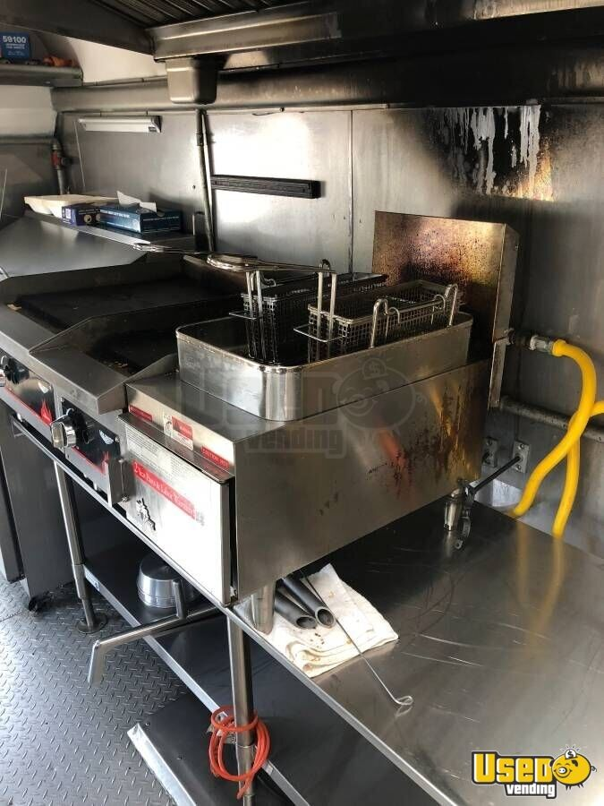1989 Chevy/thomasbuilt All-purpose Food Truck Stainless Steel Wall Covers North Carolina for Sale - 3