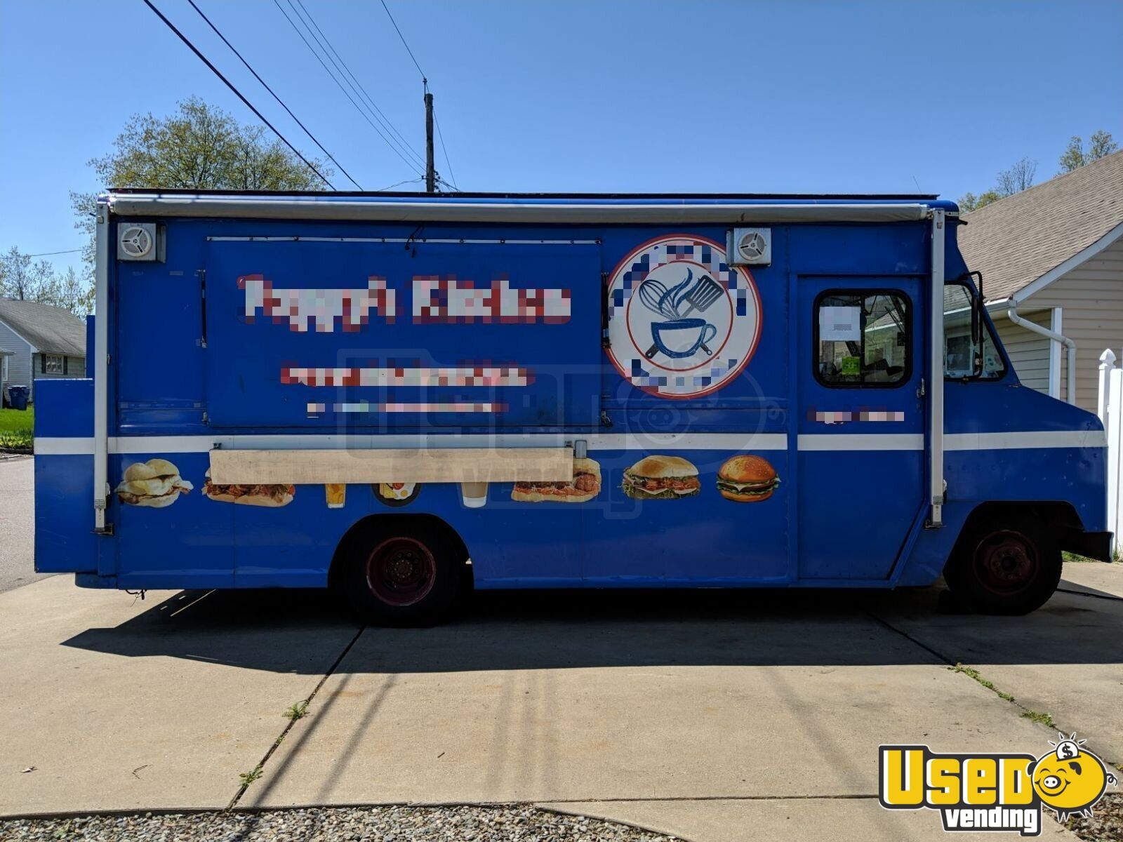 1989 E-350 Kitchen Food Truck All-purpose Food Truck Concession Window New Jersey Gas Engine for Sale - 2