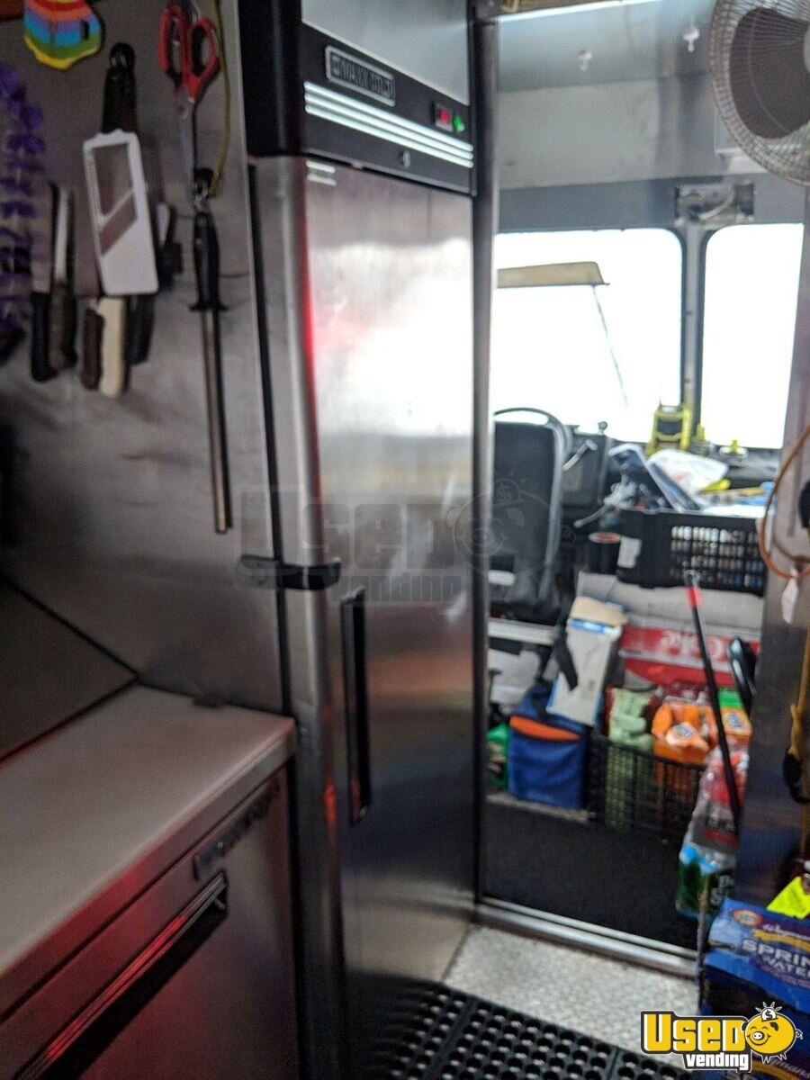 1989 E-350 Kitchen Food Truck All-purpose Food Truck Stainless Steel Wall Covers New Jersey Gas Engine for Sale - 4