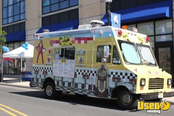 1989 E350 Ice Cream Truck Ice Cream Truck New Jersey Gas Engine for Sale