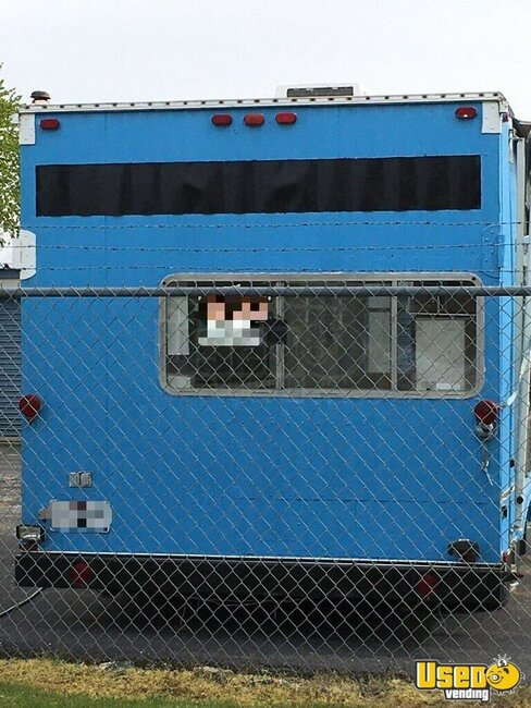 1989 Food Concession Trailer Concession Trailer Michigan for Sale