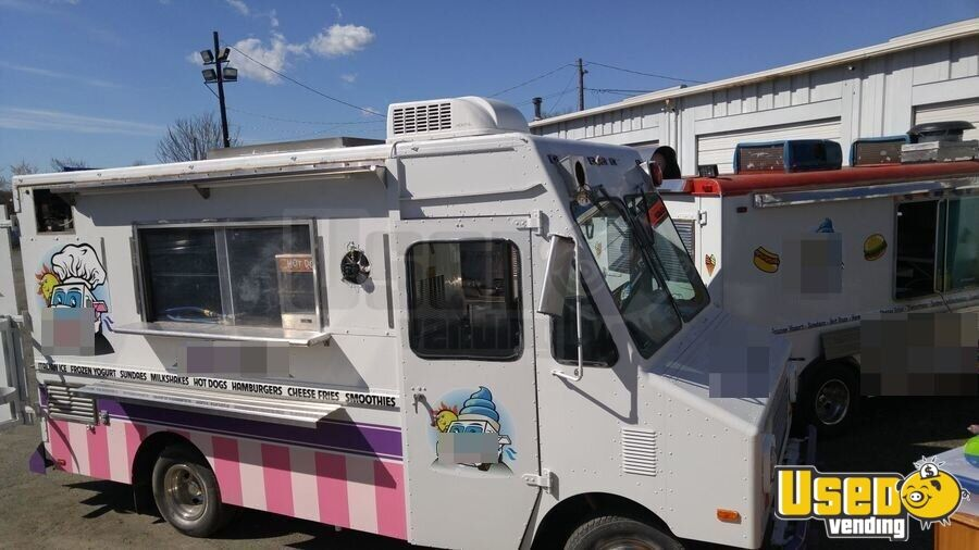 1989 Gmc All-purpose Food Truck Air Conditioning Virginia Gas Engine for Sale - 2