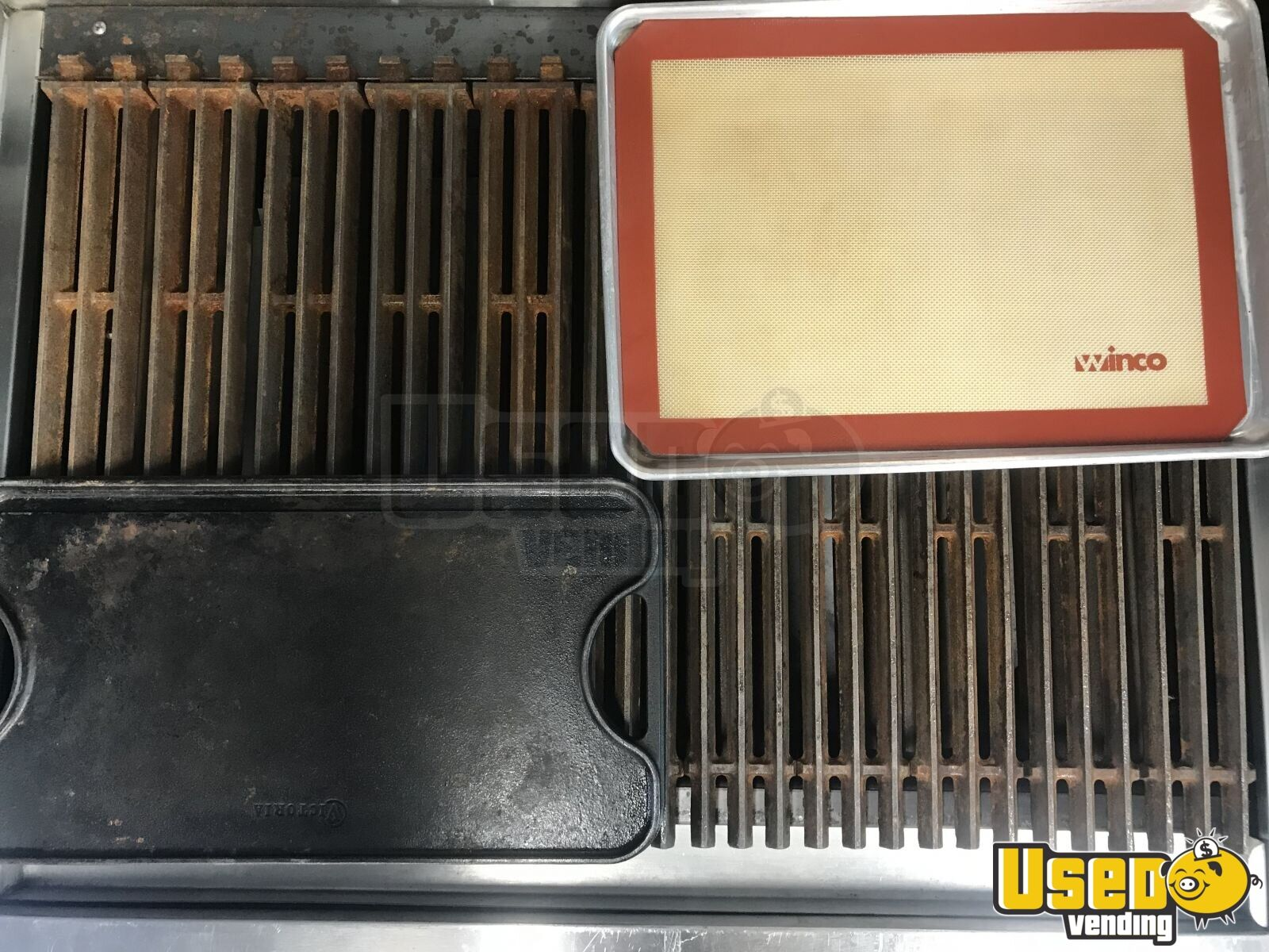1989 Gmc Food Truck Prep Station Cooler California Gas Engine for Sale - 12