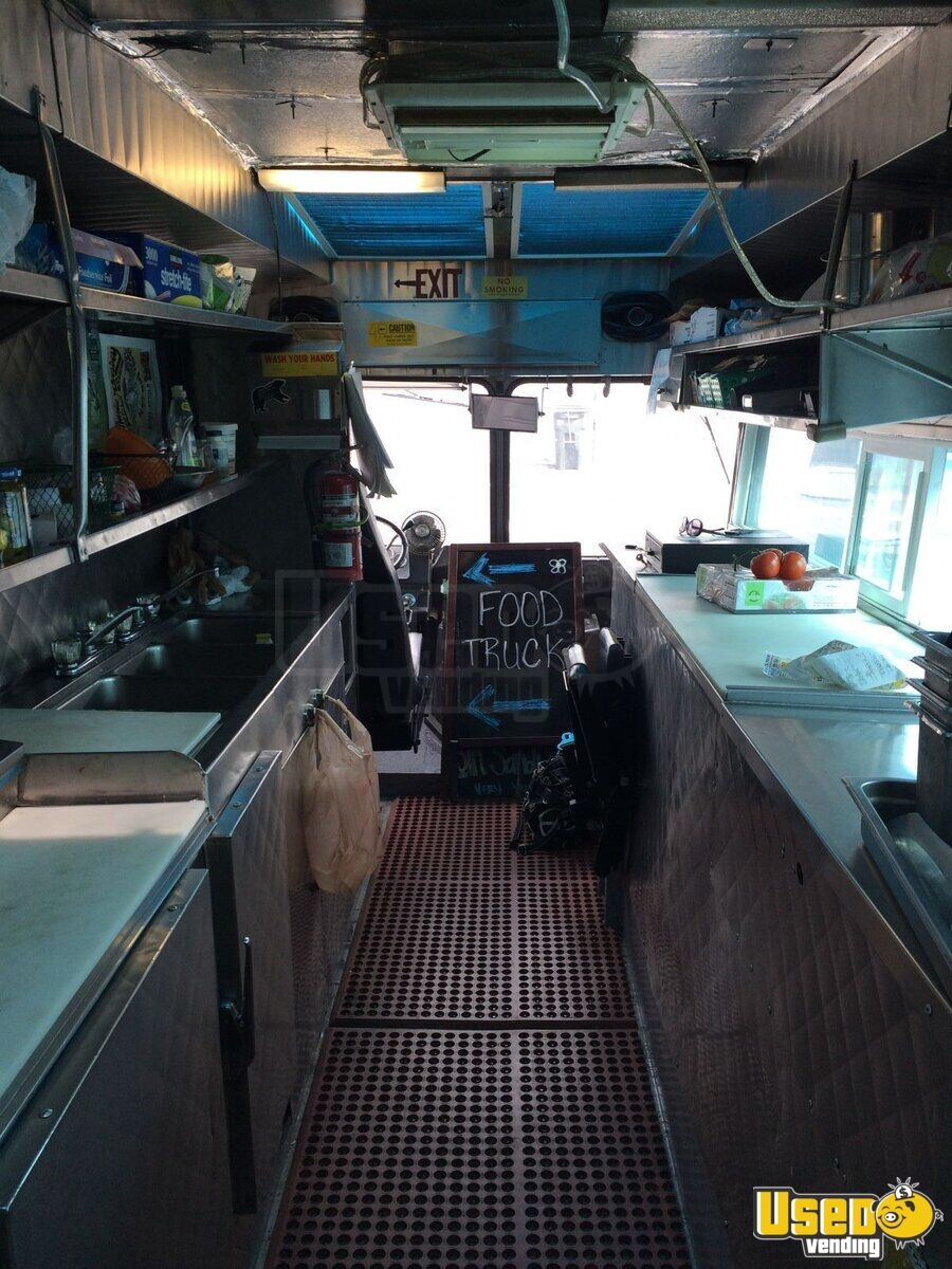 1989 Gmc P3500 All-purpose Food Truck Concession Window Nevada Gas Engine for Sale - 3