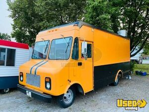 1989 P3500 Step Van All-purpose Food Truck All-purpose Food Truck Air Conditioning Iowa Gas Engine for Sale