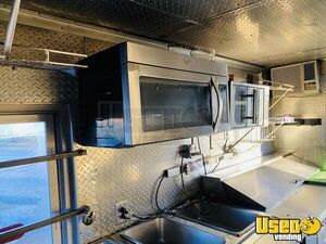 1989 P3500 Step Van All-purpose Food Truck All-purpose Food Truck Diamond Plated Aluminum Flooring Iowa Gas Engine for Sale