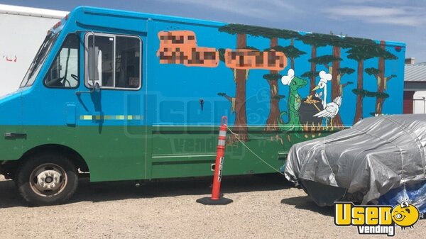 1989 Step Van All-purpose Food Truck All-purpose Food Truck Colorado Gas Engine for Sale