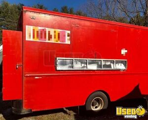 1989 Step Van Coffee Truck Coffee & Beverage Truck Cabinets North Carolina for Sale
