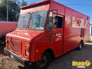 1989 Step Van Coffee Truck Coffee & Beverage Truck Concession Window North Carolina for Sale