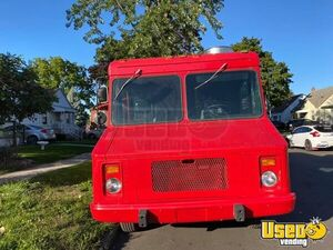 1989 Step Van Kitchen Food Truck All-purpose Food Truck Concession Window Michigan Gas Engine for Sale