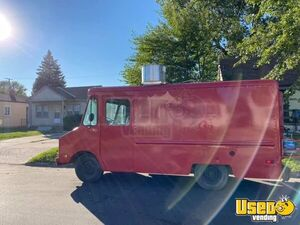 1989 Step Van Kitchen Food Truck All-purpose Food Truck Exterior Customer Counter Michigan Gas Engine for Sale