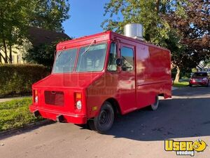 1989 Step Van Kitchen Food Truck All-purpose Food Truck Michigan Gas Engine for Sale