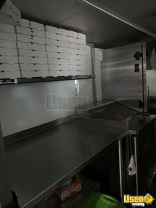 1989 Step Van Pizza Food Truck Pizza Food Truck Propane Tank Michigan Diesel Engine for Sale