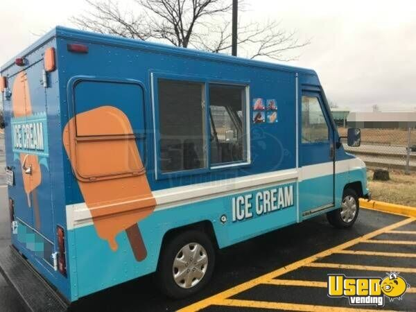 1989 Umc Aeromate Food Truck Concession Window Maryland Gas Engine for Sale