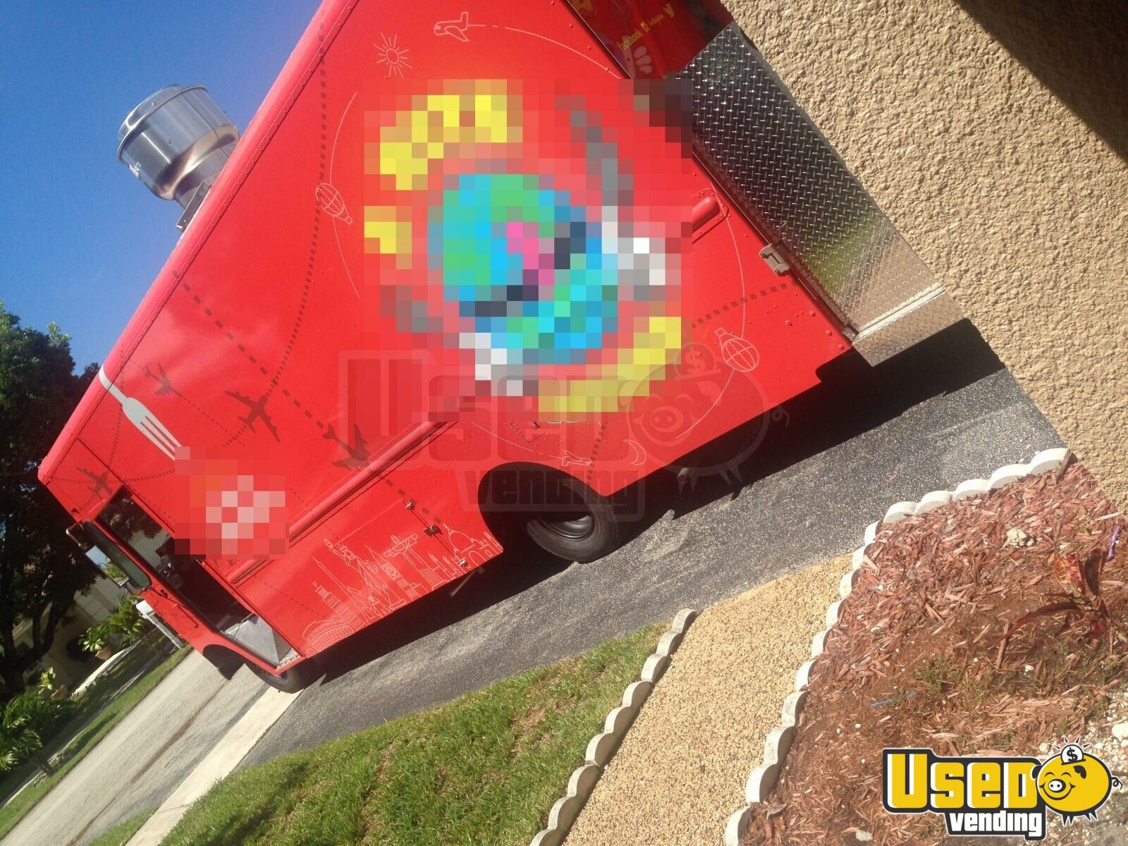 1990 All-purpose Food Truck Cabinets Florida Gas Engine for Sale - 3