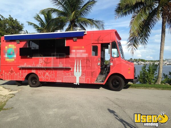1990 All-purpose Food Truck Florida Gas Engine for Sale