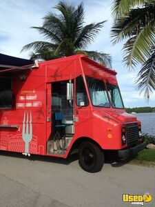 1990 All-purpose Food Truck Insulated Walls Florida Gas Engine for Sale
