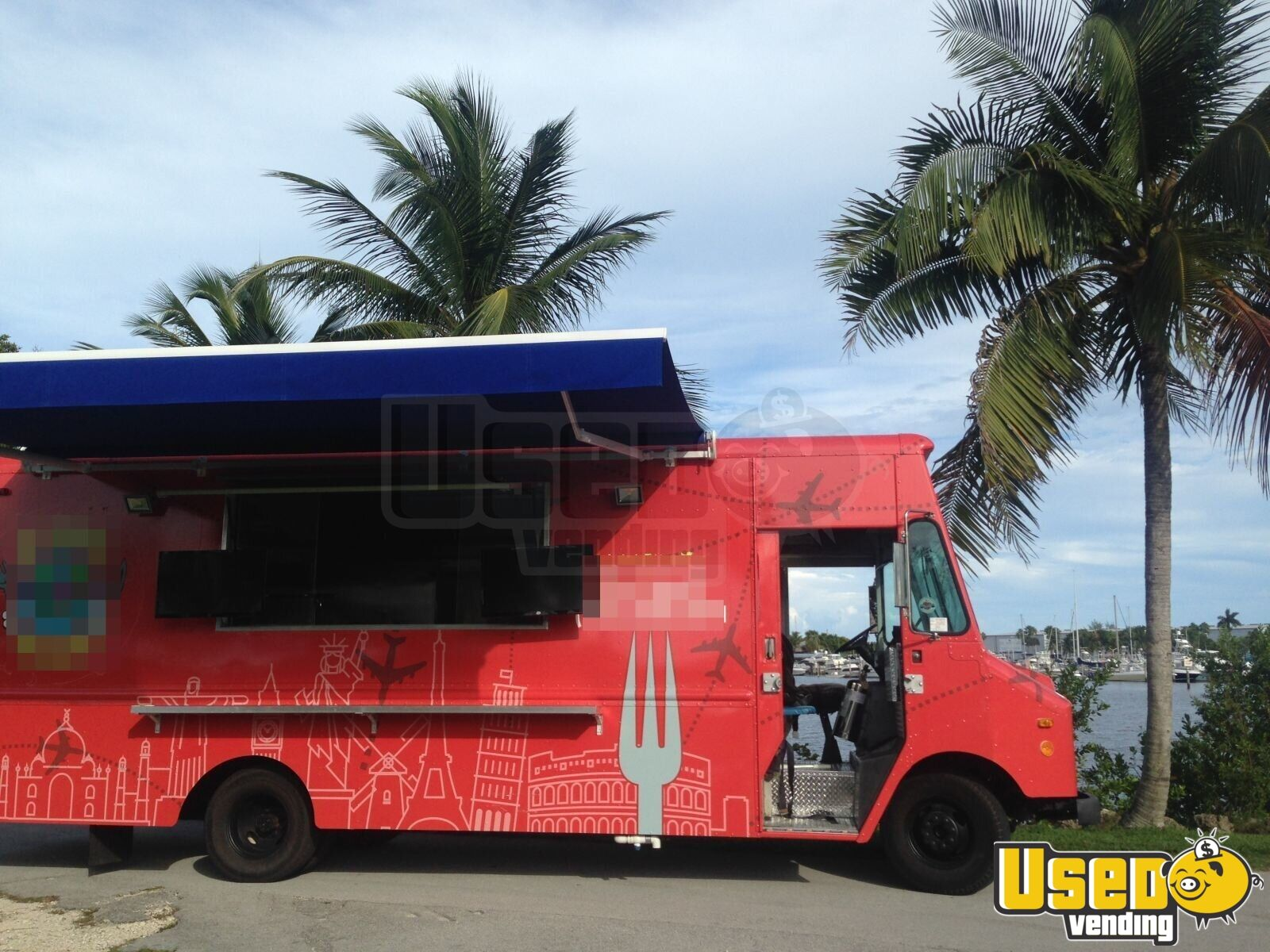1990 All-purpose Food Truck Spare Tire Florida Gas Engine for Sale - 2