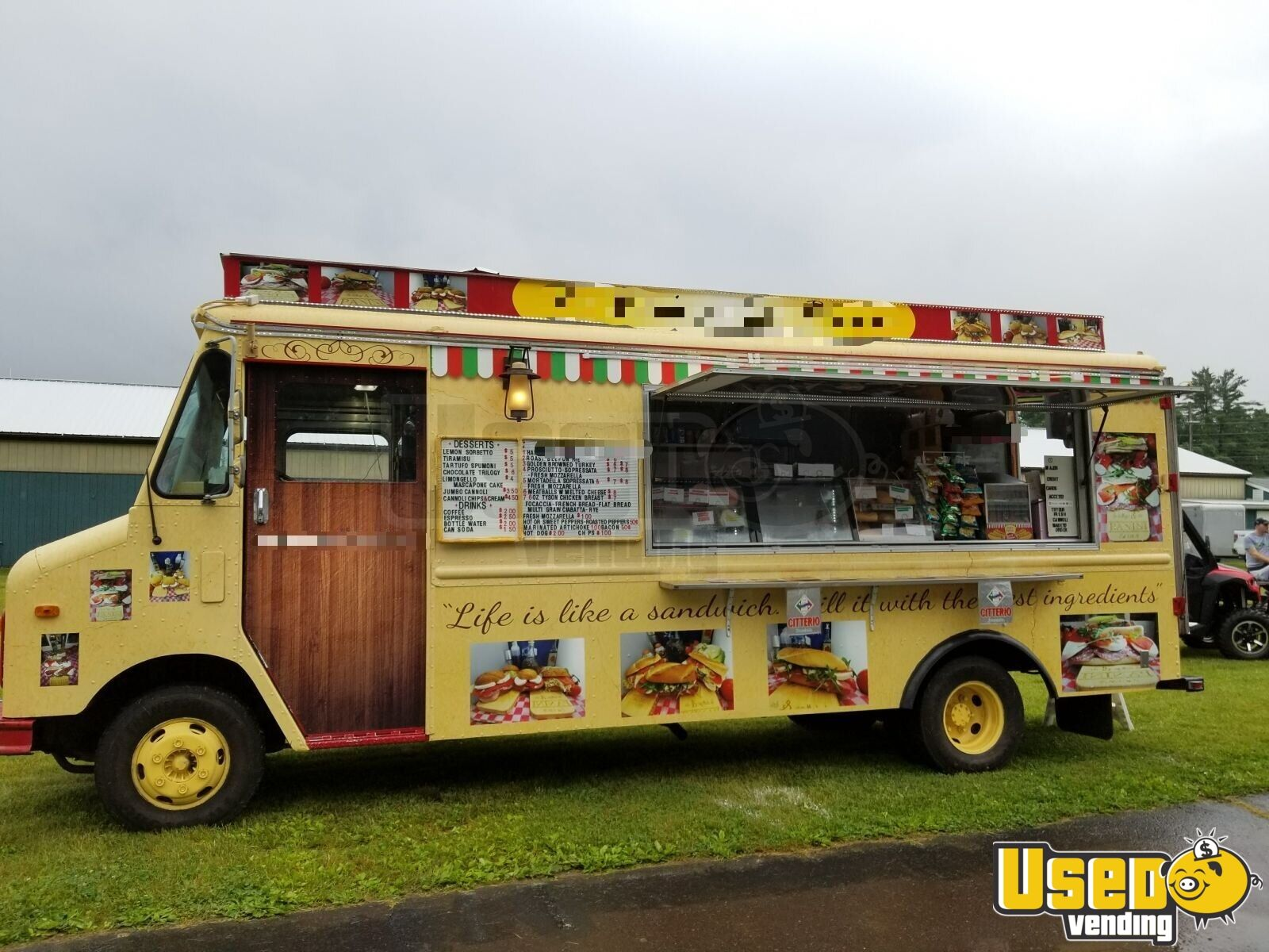 Loaded Gmc Box Truck Used Mobile Kitchen Diesel Food Truck For Sale In Pennsylvania